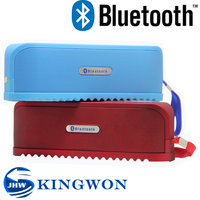 Kingwon Wireless Portable Bluetooth Silicone Speaker , speaker bluetooth can work as fm radio