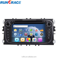 Android 7 inch touch screen car gps navigation system for ford mondeo
