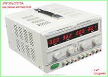 dual dc power supply TPR-3005-2D variable 30V5A lab power supply, 0-30V/5A high precision,
