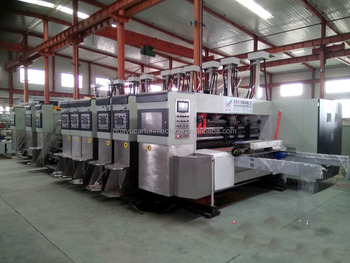 HS Series auto 5 color printer dryer coater dryer die cutter machine for high quality printing box