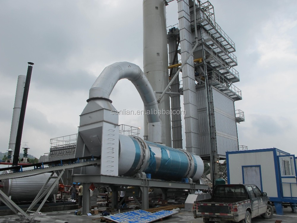 LB800 emulsified bitumen hot asphalt batching plant