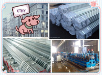 Trade assurance,hot sale TianjinFactory Price Q235 48mm Hot Dip Galvanized Steel Pipe (48mm Galvanized Steel Pipe Price)