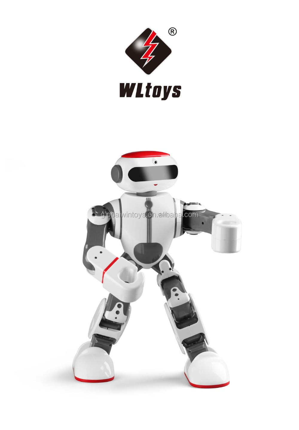 WLtoys F8 Dobi robot with voice control multifunctional intelligent rc robot for kids gift