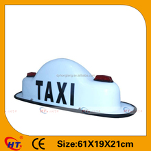 2016 New magnet led light taxi top