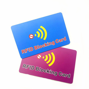 Wholesale Printable Credit Guard RFID Scanner Blocking Shield Guard Cards