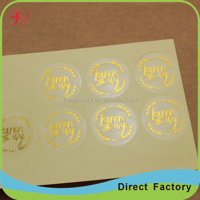 hot stamp Good selling wholesale OEM service double side printing regular ink beer bottle lab