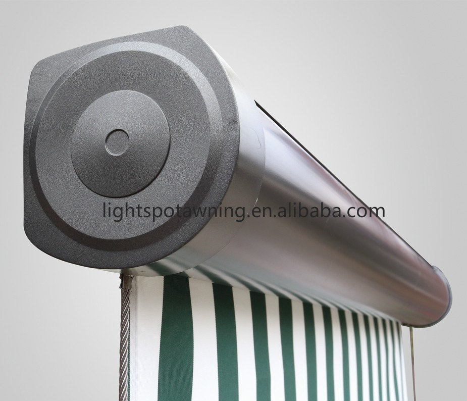 High Quality Motorized Aluminum Outdoor patio waterproof vertical window awnings