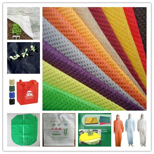 PP spunbonded non woven 100% pp fabrics