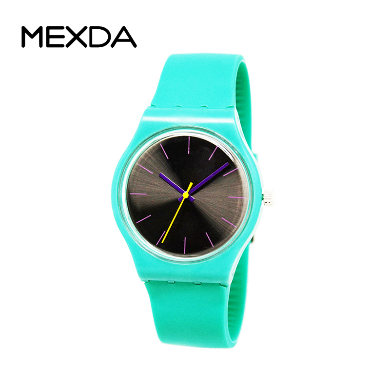 oem brand logo hot sell candy colorful promotional waterproof gift hot sell fashion japan movement silicone gril quartz watch