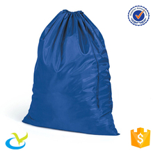 Wholesale extra large hotel nylon drawstring laundry wash bag