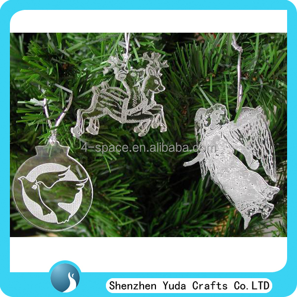 AcrylicTree Decorations pop christmas decorations Hanging Crafts