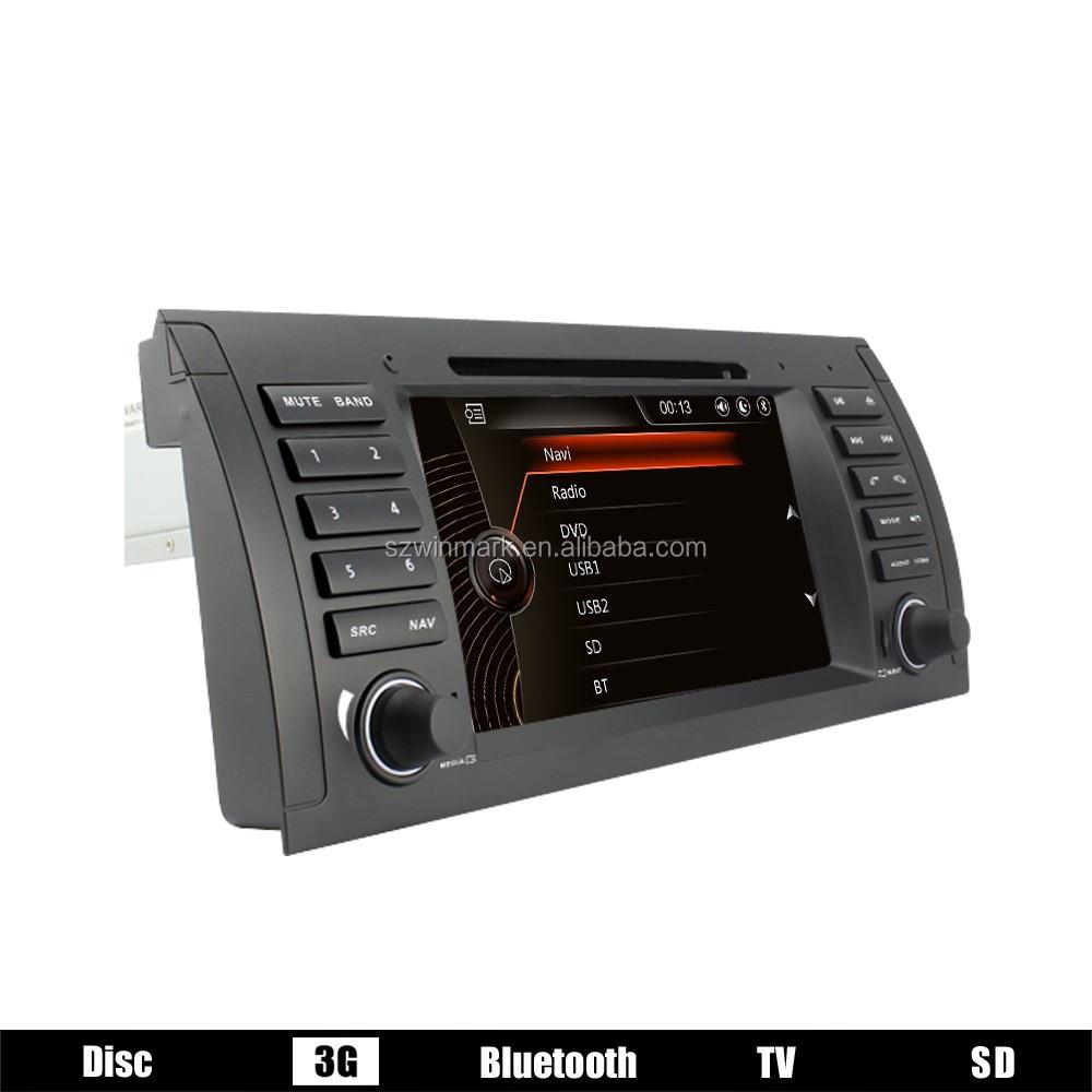 voiture radio pour bmw e39 voiture dvd pour bmw e39 x5 e53 m5 avec gps 3g tv rds pip cfc ipod. Black Bedroom Furniture Sets. Home Design Ideas