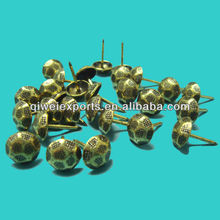 Bronze upholstery nails,antique brass tacks,decorative studs 30092