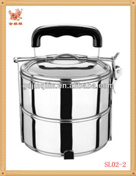 new arrival products portable food diversification indian tiffin box with handle