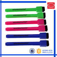 Whole color on marker barrel dry erase marker for promotion