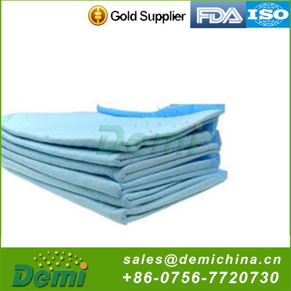 Disposable non-woven customized color incontinence pad,underpad