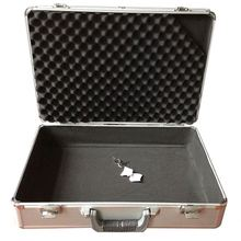carry case in aluminum tool case / instrument box with die-cut foam