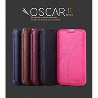 KLD Oscar II Series Card Slot Stand Leather Cover for Samsung Galaxy S4