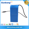 high quality customized 3S4P 18650 lithium battery pack 12v 10.4ah for Golf Trolley Lithium Battery