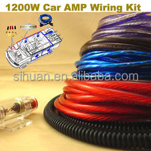 standard wire car audio power kit amp wiring kit copper wire