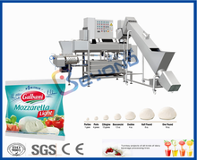 small mozzarella cheese making machine for cooking and stretching/ mozz cheese production