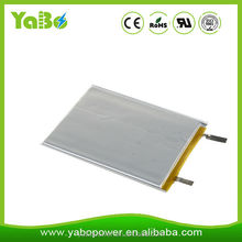 High quality low price 3.7v 906090 6000mAh rechargeable lithium polymer battery for power bank