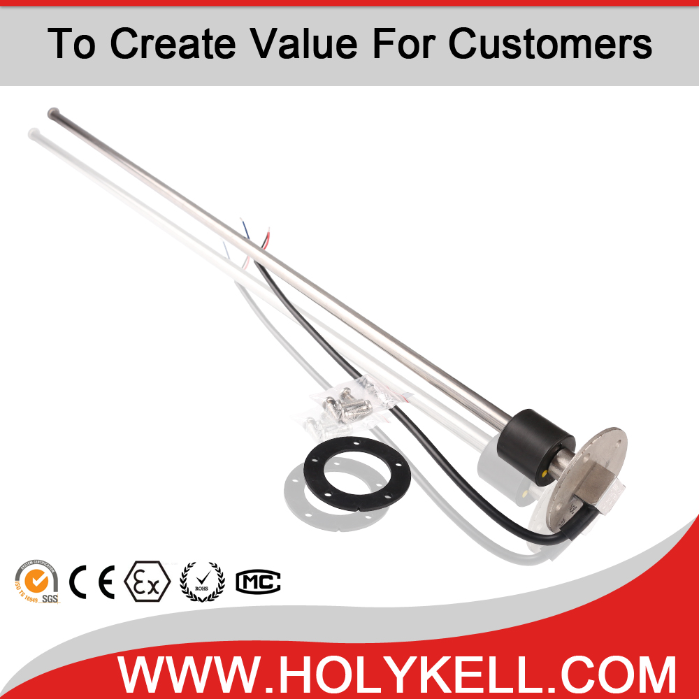 HOLYKELLstainless steel Float Level Transmitter for water, sewage, oil