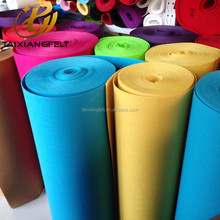 Colorful synthetic fiber wool felt from china manufacturer