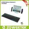 Stainless Steel Ultra Slim 2.4G Wireless Laptop Keyboard For Asus A53S
