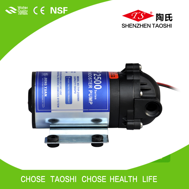 High Quality 24V dc Booster Pump For Ro System/50GPD Dengyuan pump