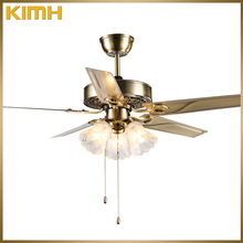 48 inch new product modern style decorative ceiling fan with chain pulls
