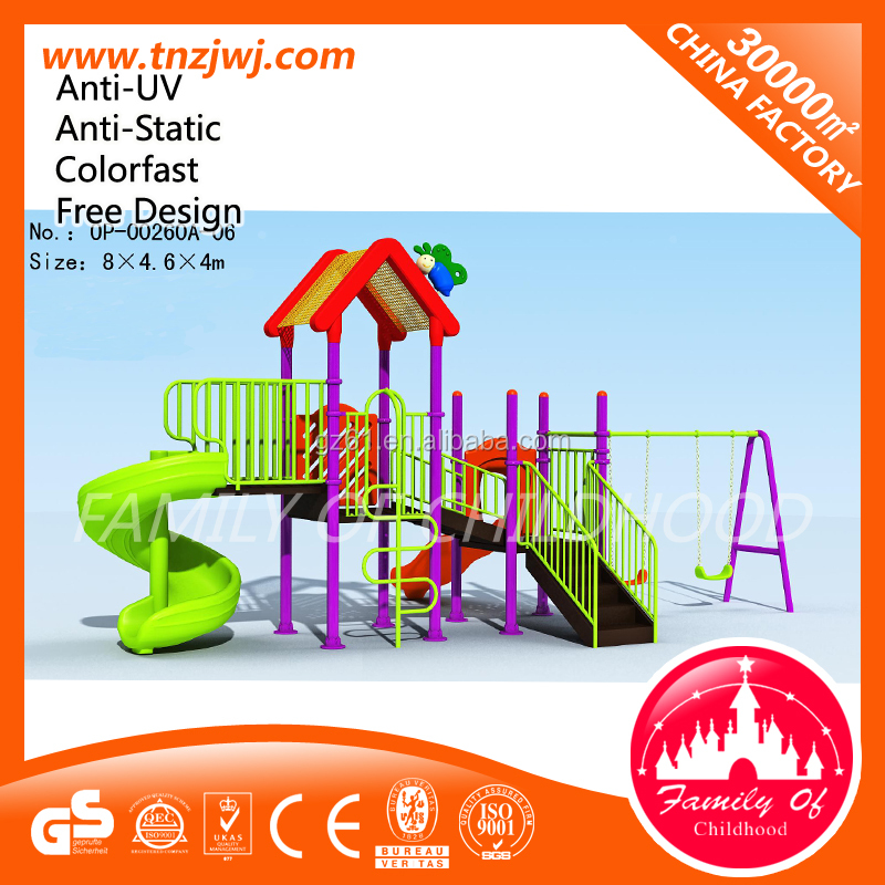 commercial outdoor slides playground for kindergarten facilities