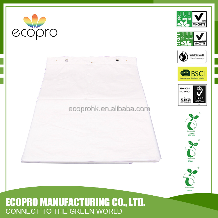 new products 100% biodegradable recycled plastic blocked flat bags