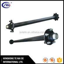 3 ton solid small axle for agricultural trailer