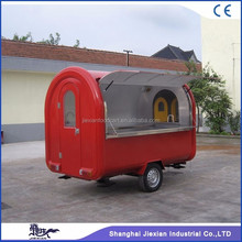 JX-FR280B popular style mini mobile food trailer for camping