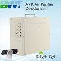 portable 3500 7000 ozone output air purifiers air ozone generator for hotels
