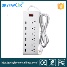 2016 new electrical plug uk usb power strip multi socket extension cord for home and office