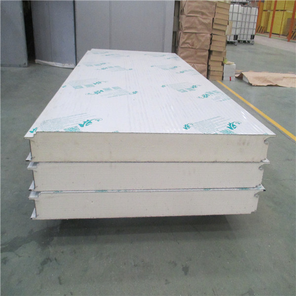 Used Galvanized Steel and PU Foam Sandwich Wall Panel