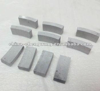 diamond segments for reinforced concrete