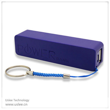 hot selling keychain power bank 2600mah solar energy power bank for samsung