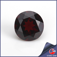 factory direct price round brilliant cut gemstone garnet