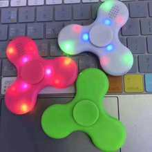 Bluetooth Fidget Spinner with LED High Quality Fingertip Gyro Hand Fidget Spinners
