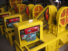 Highly Efficient second hand diesel motor driven stone crusher equipment
