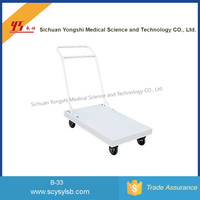 Steel Foldable Delivery Push Cart for sale