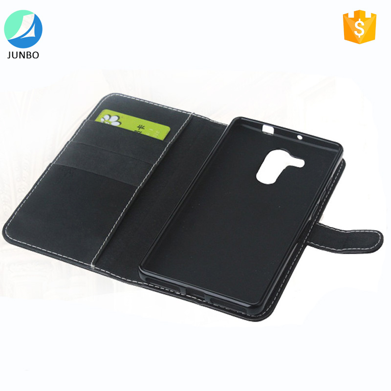 Kickstand wallet holder card slots leather mobile phone case cover for LG <strong>k10</strong>