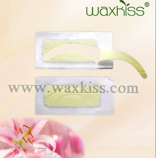 Hair Removal Double Side Cold Wax Strips Paper For Leg Eyebrows Facial hair