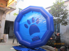 ST-IP139 hot sales inflatable dog pool with high quality and cheap price
