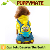 Pet Costume Cat Apparel Dog Jumpsuit Soft and Warm 5 Sizes So Cute