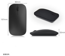 2.4G Super thin wireless Bluetooth 3.0 Portable Rechargeable mouse