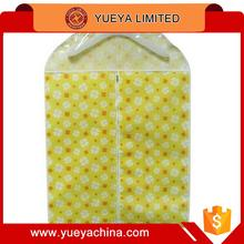 high quality lucky clover snowflake design printed business suit dust cover clothes coat storage bag (small size)